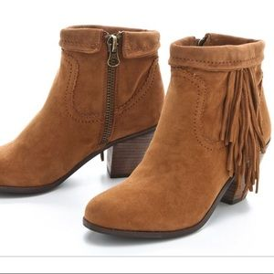 Suede Leather Sam Edelman Booties